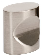 Contemporary III Oval Knob A250-34 - Satin Nickel