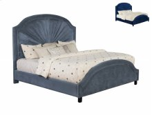 Annette Queen Headboard -navy