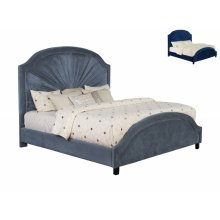Annette King Headboard -navy