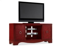 Melange Semblance Entertainment Center - Red