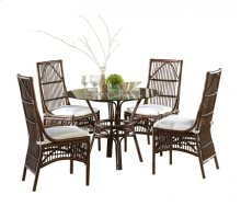 Bora Bora Dining Set with cushions