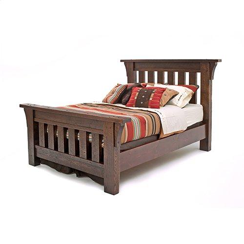 Oak Haven Bed - King Bed (complete)