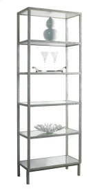 Pickford Bookcase Slim / Silver Product Image