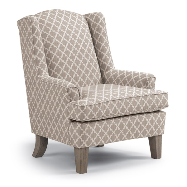 Wonderful ANDREA In By Best Home Furnishings In Nevada, MO   ANDREA Wing Back Chair