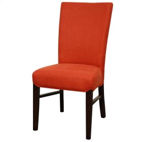 Milton Fabric Chair, Persimmon