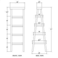 Samuel Ladder Shelf