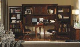 E2 Dual T Desk hutch