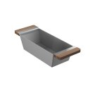Bin 205039 - Walnut Fireclay sink accessory , Walnut Product Image