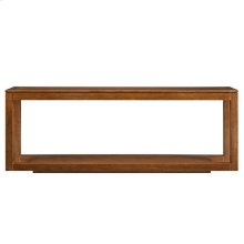 Panavista Floating Parsons Console Table in Goldenrod