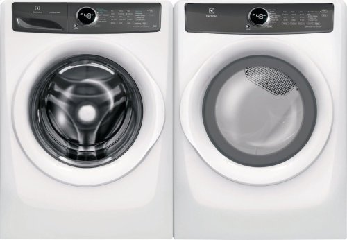 Front Load Perfect Steam Electric Dryer, Scratch & Dent, with 7 cycles - 8.0 Cu. Ft.