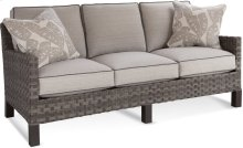 Outdoor Three Cushion Sofa