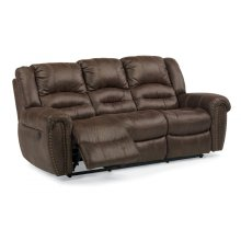 New Town Fabric Power Reclining Sofa