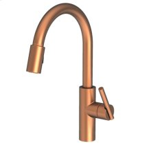 Antique Copper Pull-down Kitchen Faucet