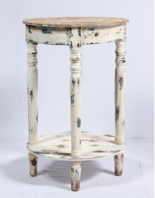 Side Accent Table-weathered Wood Finish Rta