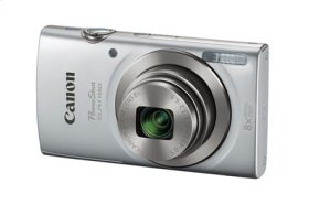 Canon PowerShot ELPH 180 Silver Digital Camera