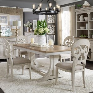 Liberty Furniture Industries7 Piece Trestle Table Set