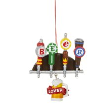 """Beer Lover"" Tap Beer Ornament."