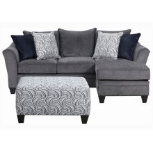6485 Stationary Sofa w/Chaise