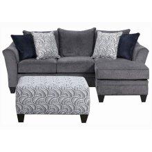 6485 Stationary Sofa w/Chaise