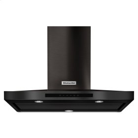 "36"" Wall-Mount, 3-Speed Canopy Hood - Black Stainless Steel with PrintShield™ Finish"