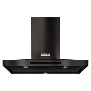 "Kitchenaid36"" Wall-Mount, 3-Speed Canopy Hood - Black Stainless Steel with PrintShield™ Finish"