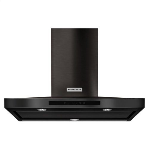 """36"""" Wall-Mount, 3-Speed Canopy Hood - Black Stainless Steel with PrintShield™ Finish"""