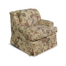 Rochelle Chair 4004 in Maxima Plum Floral Fabric