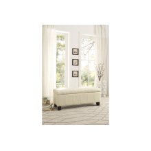 Lift-Top Storage Bench, Taupe