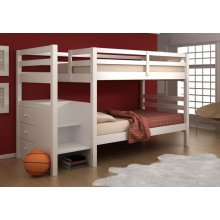 Twin/ Twin Stairway Bunkbed