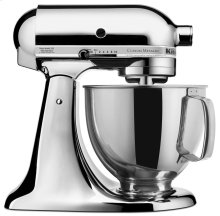 Custom Metallic® Series 5 Quart Tilt-Head Stand Mixer - Chrome