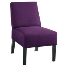 Tino Accent Chair in Purple