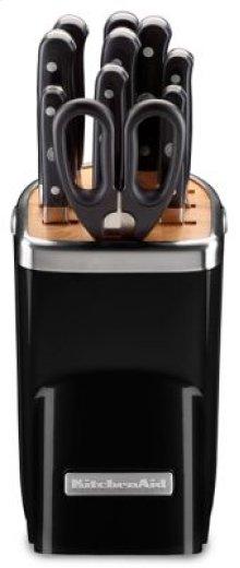 11pc Professional Series Cutlery Set - Onyx Black