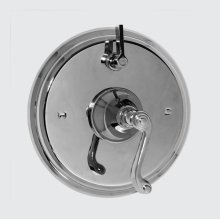 Pressure Balance Shower X Shower Set with Charlotte handles (available as trim only P/N: 1.000467T)