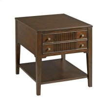 Mercato Rectangular Drawer End Table