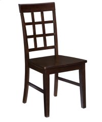 Dining Chair (2/Ctn) - Espresso Finish Product Image