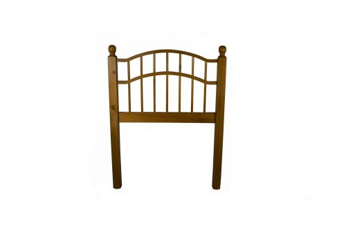 Double Arch Spindle Headboard - Twin