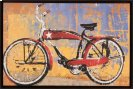Red Bike With Star Product Image