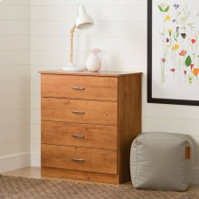 4-Drawer Chest Dresser - Country Pine