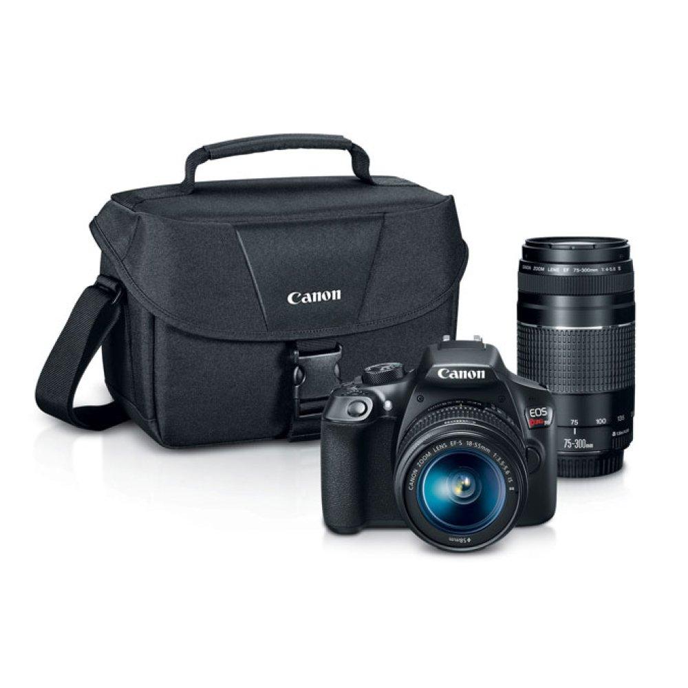 Canon EOS Rebel T6 Double Zoom Lens Kit Digital SLR Camera