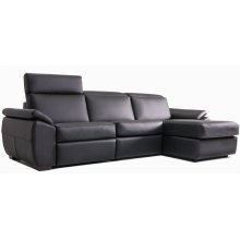 Venice Sectional (173-177-170; Wood legs - Tea T37)