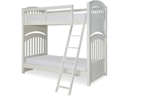 Academy - White Full Over Full Bunk Bed 4/6