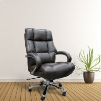 DC#300HD Cafe Fabric Heavy Duty Desk Chair - 500 lb. Product Image