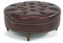 Martin Cocktail Ottoman with nails
