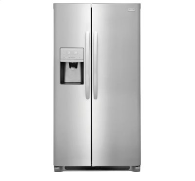 Frigidaire 22.0 Cu. Ft. Counter-Depth Side-by-Side Refrigerator Product Image