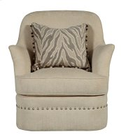 Amanda Ivory Swivel Chair