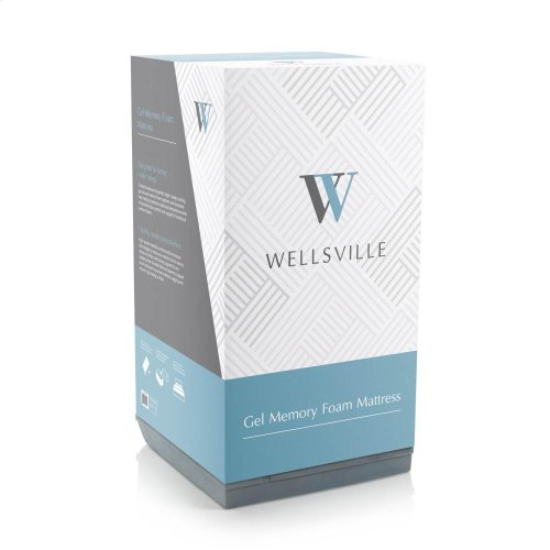 "Wellsville 14"" Gel Foam Mattress - Split Cal King"