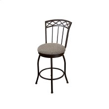 Pittsburg B504H26S Swivel Back No Arms Bar Stool