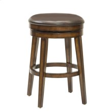Beechland Backless Swivel Counter Stool