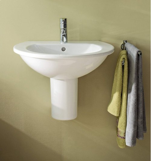 Darling New Washbasin 1 Faucet Hole Punched