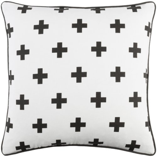 "Inga INGA-7015 18"" x 18"" Pillow Shell Only"